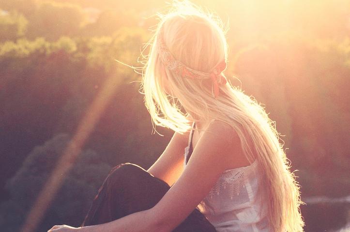 Tjejfrisyrer för blondiner